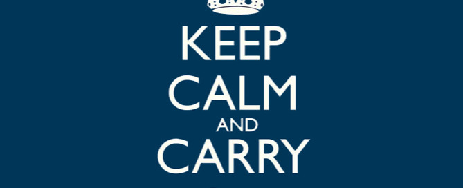 keep calm and carry on, client break up