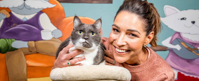 Giaan Rooney, Pet Adoption Month ambassador